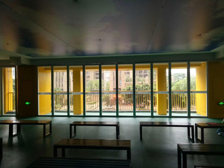 65型玻璃活动隔断(单玻)